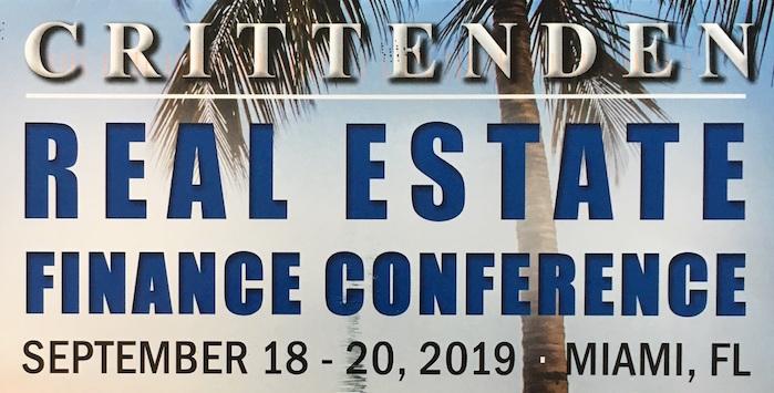 Crittenden Real Estate Finance Conference