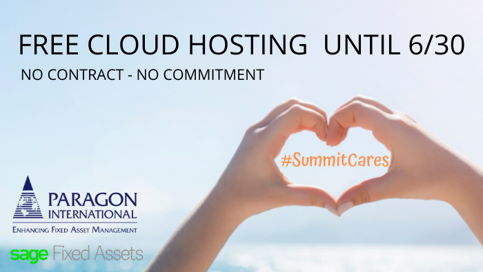 Paragon offers Free Sage Fixed Assets Cloud Hosting