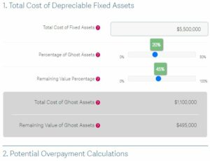 Sage Fixed Assets Savings Calculator